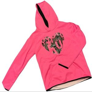 Under Armour Girls Hoodie Youth Large